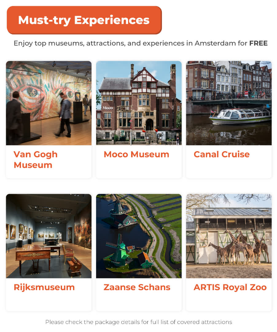 i amsterdam card must try experiences